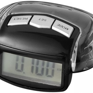 Stay-Fit pedometer, black