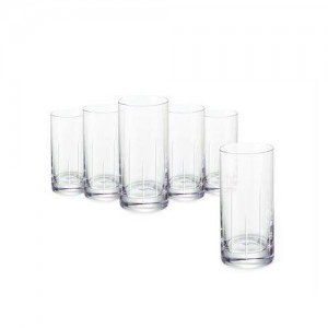 Tranquility Set of 6 Water Glass Hat Box