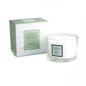 Tipperary White Tea 3 Wick Candle