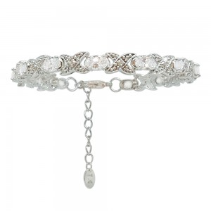 Silver Bracelet X&O