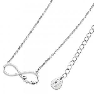Love Infinity Pendant Silver