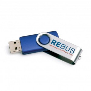 World Source Twister USB 1 colour print, 16 gig
