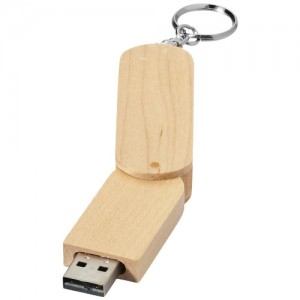 Rotate Wooden USB