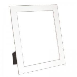 "Classic White Enamel Frame 8"" x 10"""