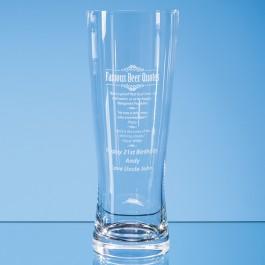 0.7ltr Large Handmade Beer Glass*