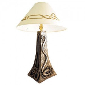 Celtic Wolfhound Lamp Large