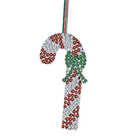 Candy Cane Hanging Decoration