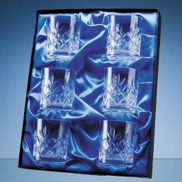 Universal 6 Glass/Award Satin Lined Presentation Box*