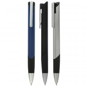 Trianglis metal ball pen