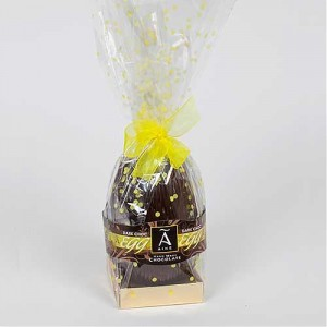 Large Wrapped Egg 320g Dark (with 2chocs)