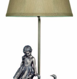 The Goose Girl Lamp