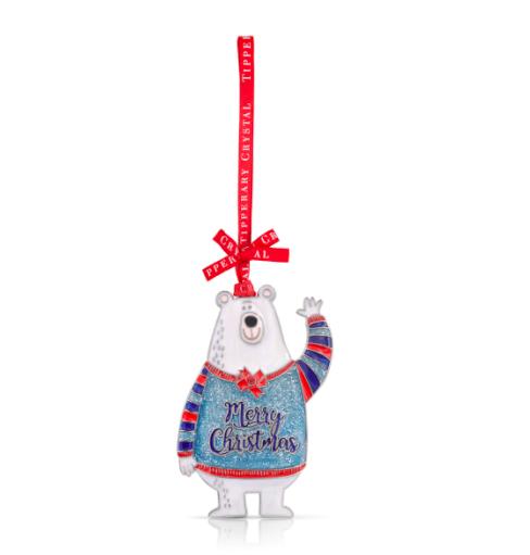 Sparkle Polar Bear Decoration
