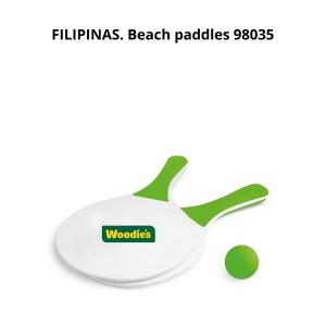FILIPINAS Beach paddles